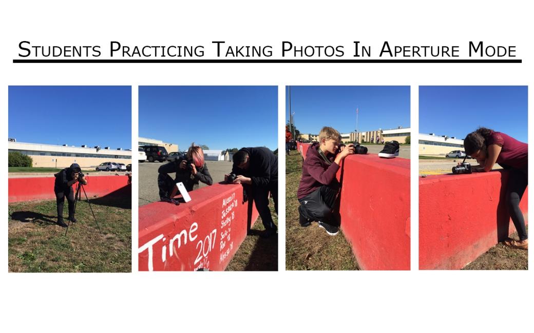 Aperture photo shoot